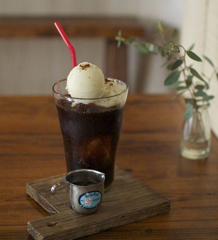 soi豆乳アイスのコーヒーフロート