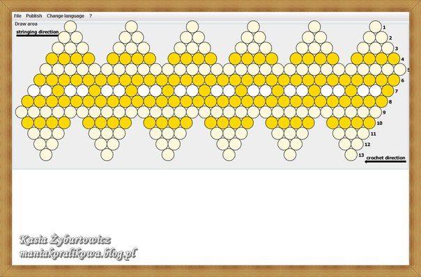 Beaded bead crochet pattern