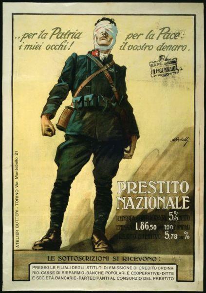 Per la patria i miei occhi! Achille Luciano Mauzan