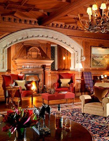 Lounge Skibo Castle Scotland