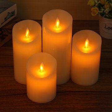 Sólo €7.77, compra mejor Mando a distancia LED luz de las velas sin llama electrónicas intermitentes decoración del partido de la lámpara venta en línea en pricio del wholesale. Almacén de EE.UU./UE.