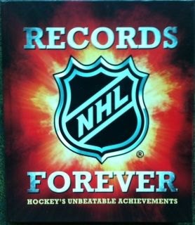 Loaded with trivia, stories, and photos, NHL Records Forever is a chronicle of the game's truly unbeatable achievements.  Hardcover 209 pages ISBN: 978-0-7710-5103-6