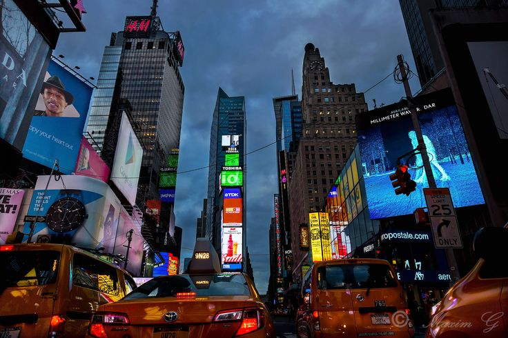 #newyork, #timesquare, #US, #taxi, #skyscrapers, #billboards, #photography #travelphotography