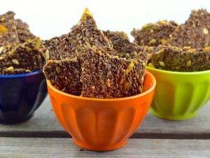 крекеры из различных семян