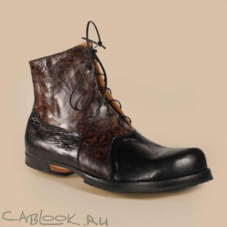 Ботинки мужские CYDWOQ HAMMER_B купить в интернет-магазине дизайнерской обуви КАБЛУК.РУ