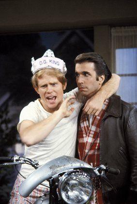 Ron Howard & Henry Winkler in Happy Days
