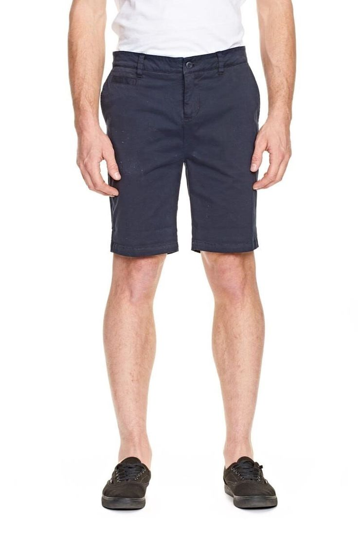 ELWOOD CLOTHING - Ethan Chino Short Navy