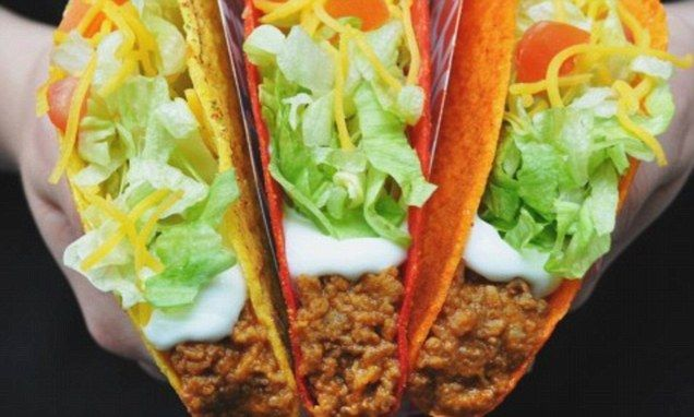 Taco Bell reveals components of mystery beef that's 88 per cent cow