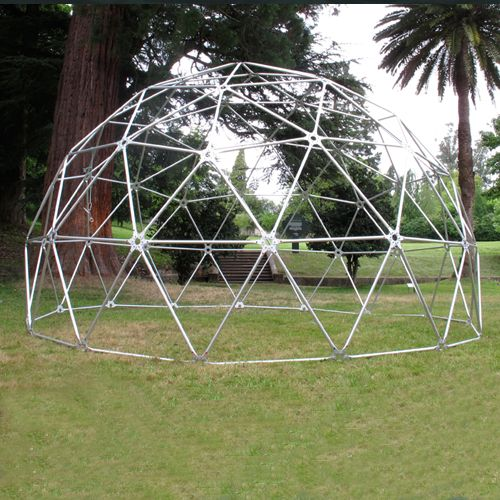 domo geodesico estructura