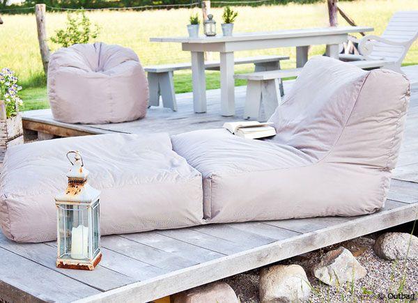 Nice Sitzsack Profi Trend Das Wohnzimmer f r drau en Mit Outdoor Sitzs cken