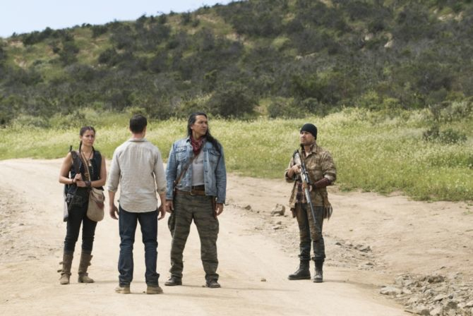 AMC's 'Fear the Walking Dead,' Season 3, Mercedes Mason as Ofelia