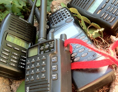 Emergency communications in the backcountry.