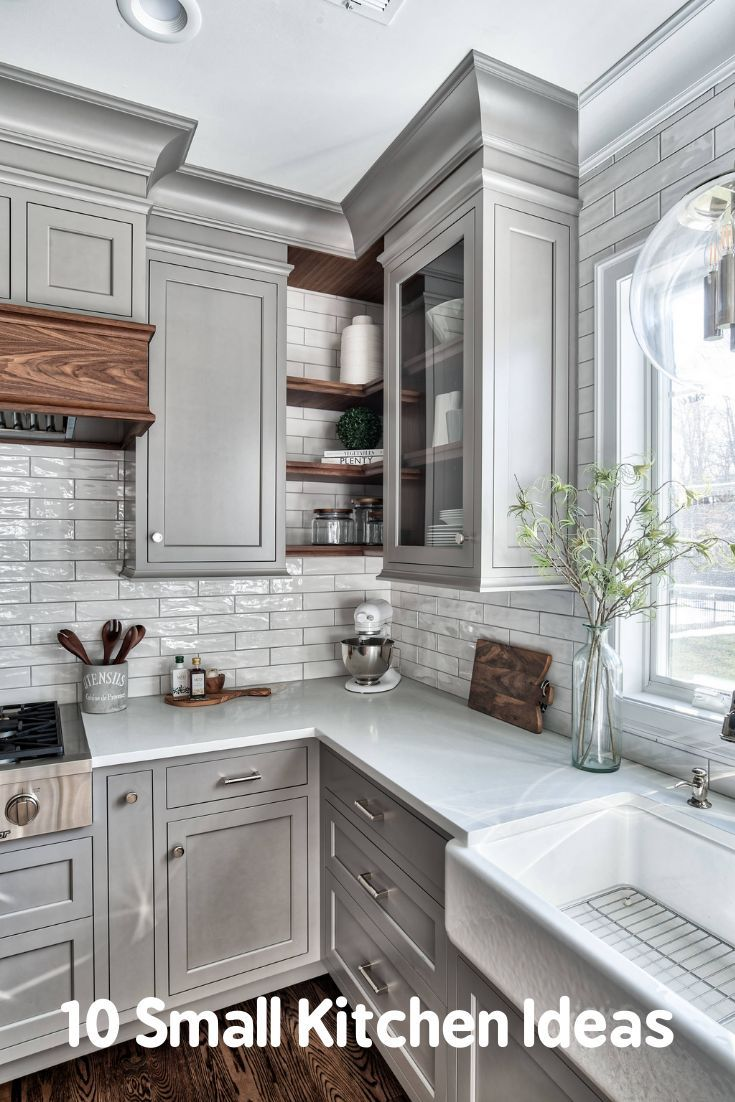 20 Beautiful Galley Kitchen Remodel Ideas 2020 Tips Trends In 2020 Kitchen Cabinet Design Kitchen Remodel Small Farmhouse Kitchen Decor