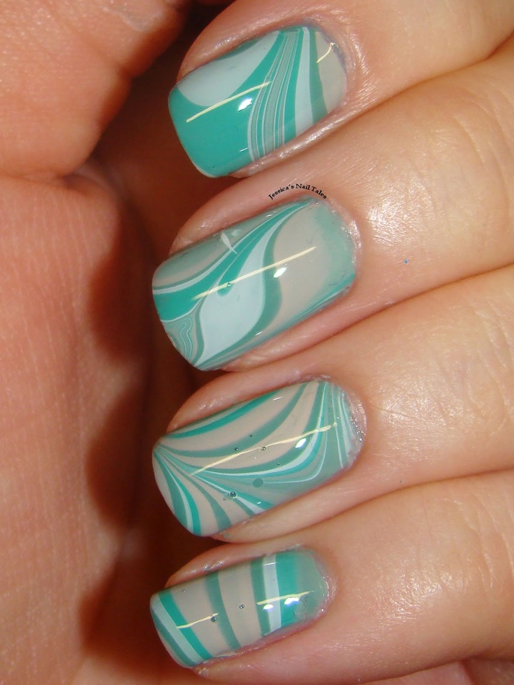 Jessica's Nail Tales: Lazy Days of Summer- Beach Theme Nails!