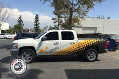 yada Backup Camera Pickup Truck Wrap