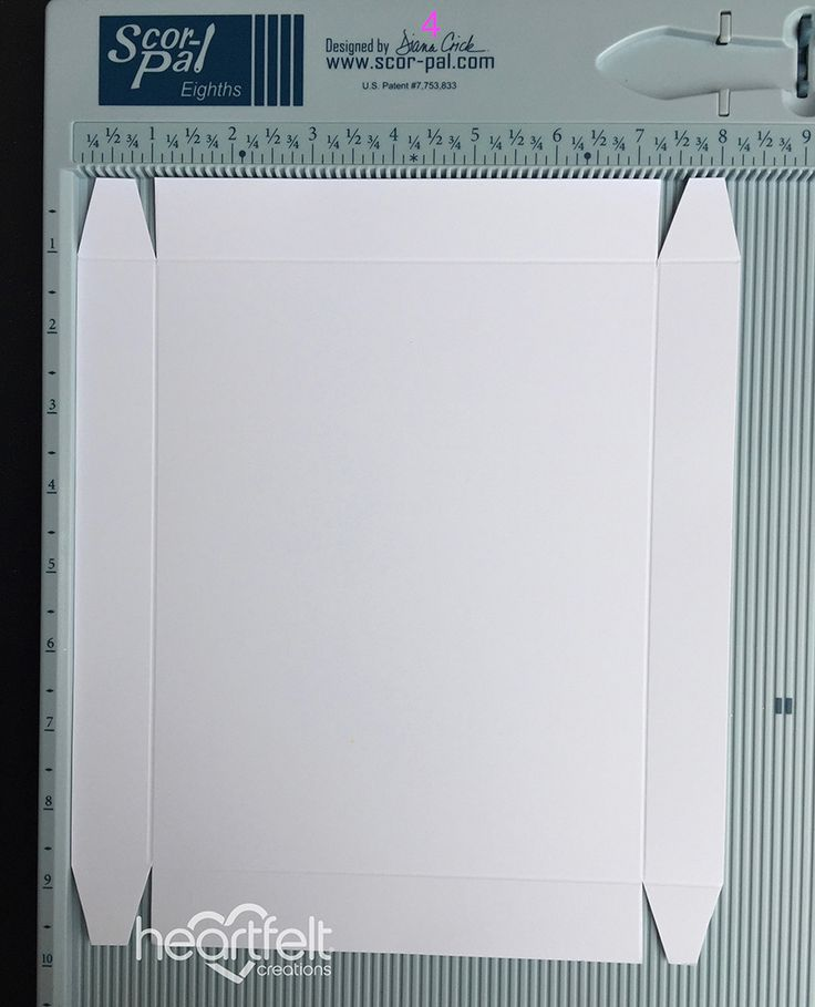 How to create boxes for any size dimensional card - Heartfelt Creations