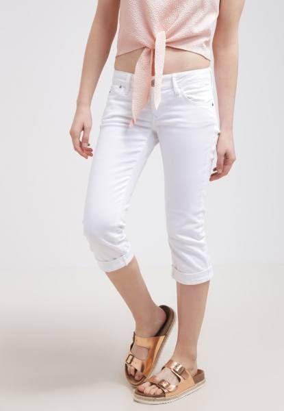Mavi Alma Short Vaquero White Festival shorts ropa pantalones white vaquero short Mavi Festival Alma Noe.Moda