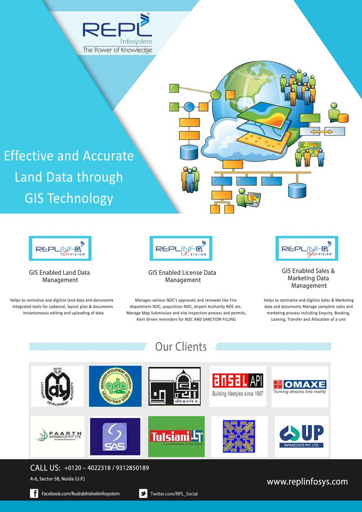 Effective and Accurate Land Data Through GIS Management Technology. http://www.replinfosys.com/gis-mapping.aspx