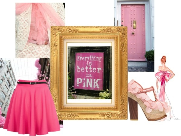 """""""Everything is Better in Pink"""" by alicia-king on Polyvore"""