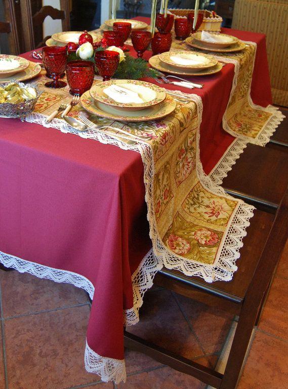 Wonderful INCANTO TABLE CLOTH   PatriziaB.com Original And Versatile Table Set Made  Up Of A