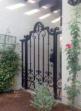 Courtyard Gates Traditional Landscape Phoenix
