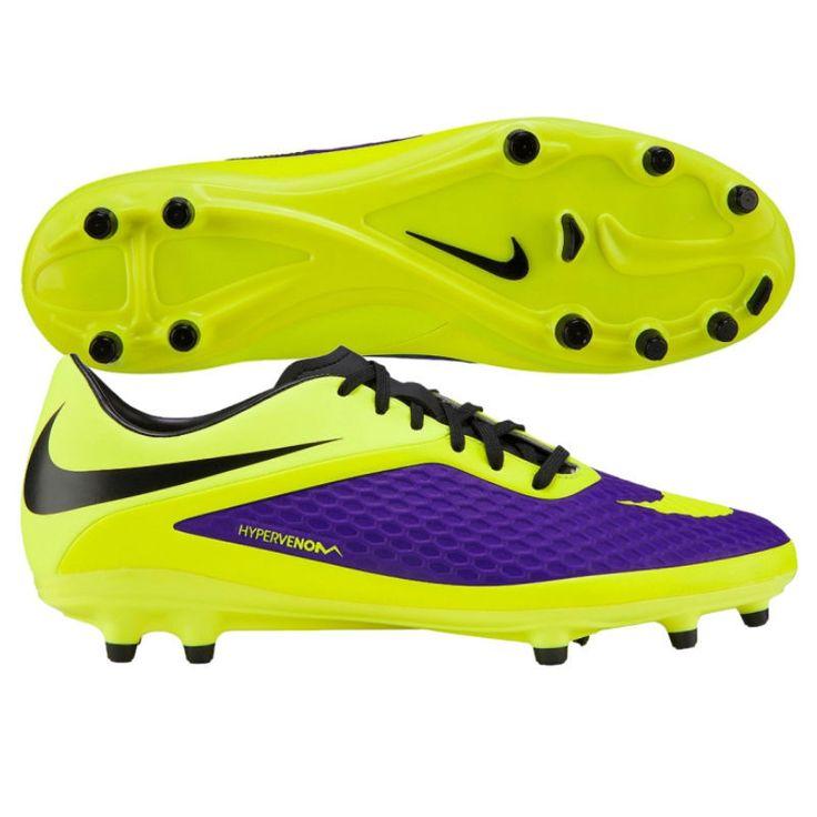 Nike Hypervenom Phaelon FG Electro Purple/Volt/Yellow Mens Soccer Cleats |  Soccer? ? | Pinterest | Mens soccer cleats, Soccer cleats and Cleats