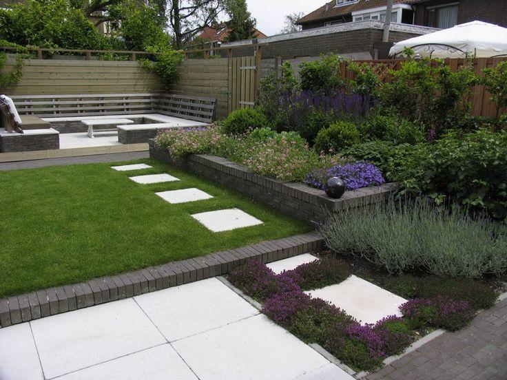 25 beste idee n over tuin stapstenen op pinterest for Tuinarchitect kleine tuin