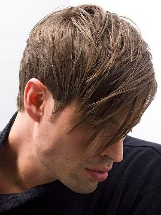 Mens Haircut Long Fringe Short Sides Daily Health