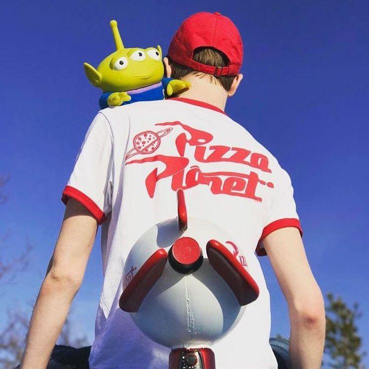 Oooooooh | Disney Pixar Toy Story Pizza Planet Ringer Tee