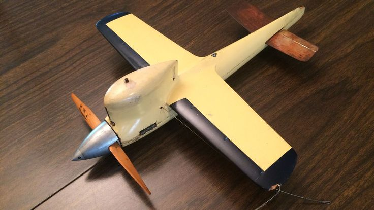 tether speed plane | ... Control Line Class B Speed Model Airplane Tether Plane W/ Mccoy Engine