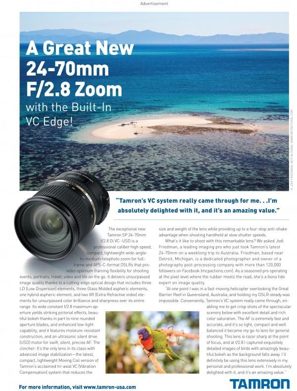Contest: Win a Tamron 24-70 2.8 VC Lens for Canon, Nikon, or Sony SLR Cameras: 24 70 Lens, Going Enter Win, 2470, Vc Lens, Tamron 24 70, Tamron Lens, Camera Lens, Sony Slr, Slr Camera