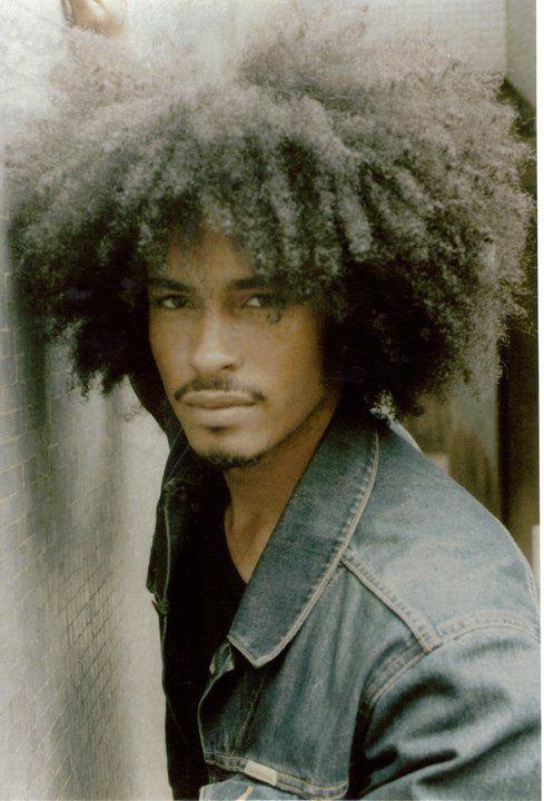 Natural Hair Natural hair - Oh men in big hair.. Afro fashion styles