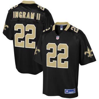 Men's New Orleans Saints Mark Ingram NFL Pro Line Black Player Jersey