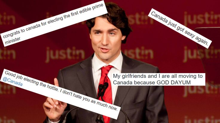 Canada's Hot New Prime Minister - Americans finally get interested in Canadian Politics.