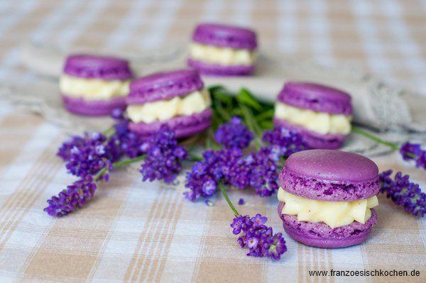 Danke für alles… die Gewinner und ein Lavendel-Macarons Rezept | Rezept | Französisch kochen