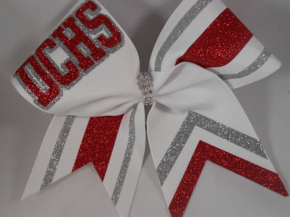 Cheer Bow Custom Just For Your School Team Letters / Colors