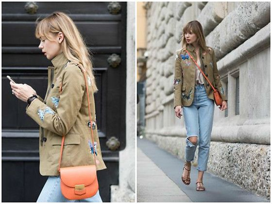 Get this look: http://lb.nu/look/8595807  More looks by Anastasiia Masiutkina: http://lb.nu/anastasiiamas  Items in this look:  Valentino Jacket, Celine Bag, Topshop Jeans, Intimissimi Top, Gucci Sandals   #bohemian #casual #street #anastasiiamasiutkina #eatdresstravel #fashioninfluencer #fashion #streetstyle #streetstylevgenio