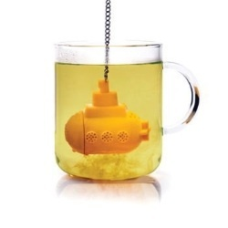 Yellow Submarine Tea Infuser :D: The Beatles, Teas Infused, Yellow Submarines, Teas Strainer, Teas Time, Submarines Teas, Leaves, Drinks, Products