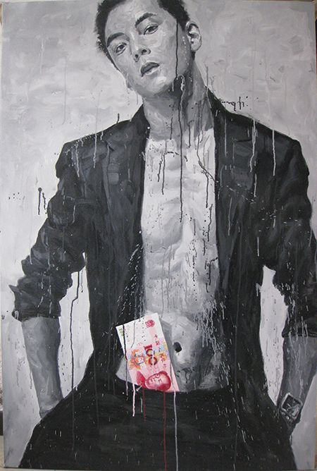 Daniel Wu 2012  150 x 100cm Acrylic on canvas