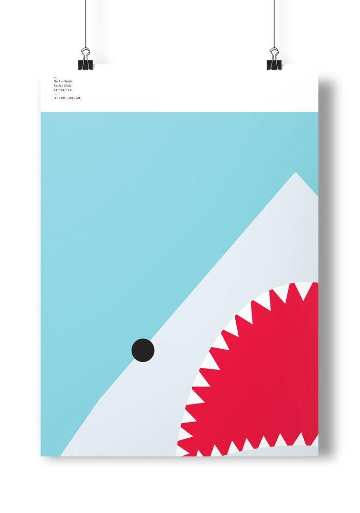 Poster > Perish > Illustration > Shark  @ellodesign