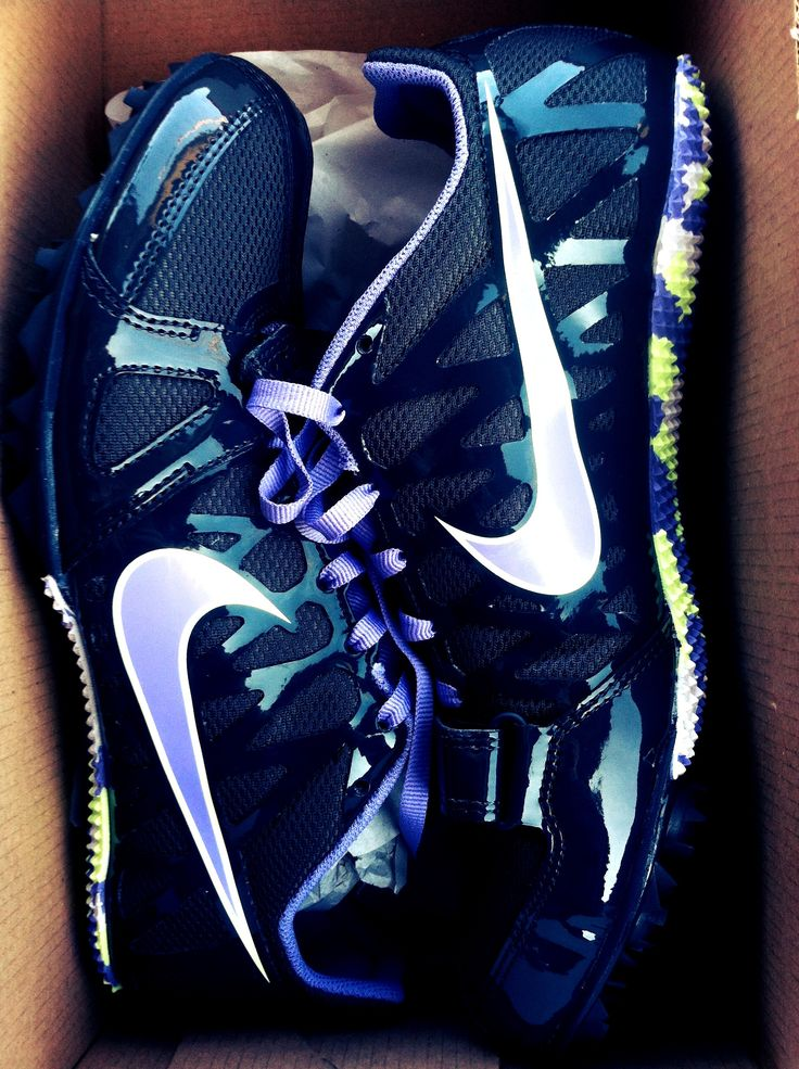 Track shoes!