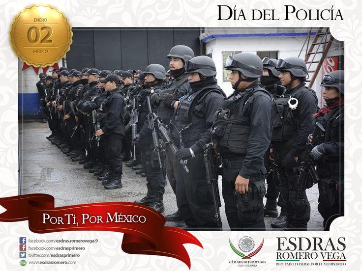 Felicito a aquellos cuya responsabilidad es luchar porque la sociedad viva en paz y con respeto, ¡Feliz Día del Policía!. #Madero #Altamira #Aldama ¡Buena tarde!