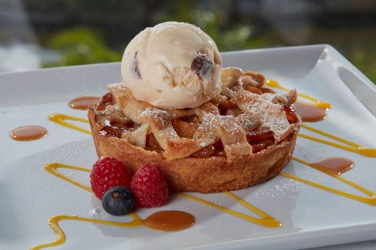 Hot Apple Pie - classic served warm with vanilla ice cream