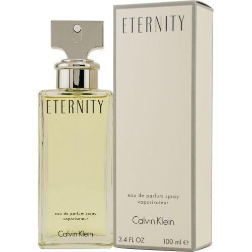 ETERNITY by Calvin Klein 3.4 oz. EDP Eau De Parfum Spray Women's Perfume NEW NIB #CalvinKlein