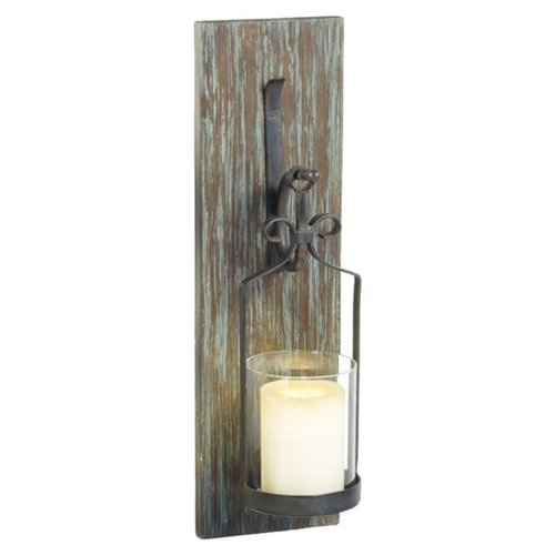 Wall Sconce Pillar Candle : 71 best images about candle sconces on Pinterest Wall boxes, Wrought iron and Wall sconces