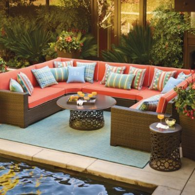 Palermo Oversized Modular Seating In Bronze Finish. Find This Pin And More  On Patio Furniture ...