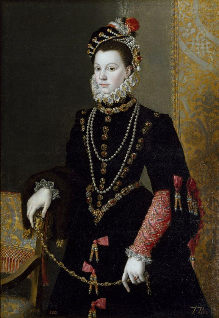 Pantoja de la Cruz, Juan La reina Isabel de Valois, tercera esposa de Felipe II 1605