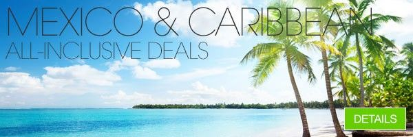 Bookit Mexico and Caribbean All-Inclusive Vacations Hotels Sale!  , Mexico and Caribbean All-Inclusive Vacation Packages and Resort Deals Book your trip to an All-Inclusive destination with BookIt.com and you will find the most affordable travel deals and deeply discounted rates on All-Inclusive hotels and resorts. BookIt.com will get you where you want to go at the cheapest rate possible whether you are interested in a quick weekend getaway or an affordable extended excursi