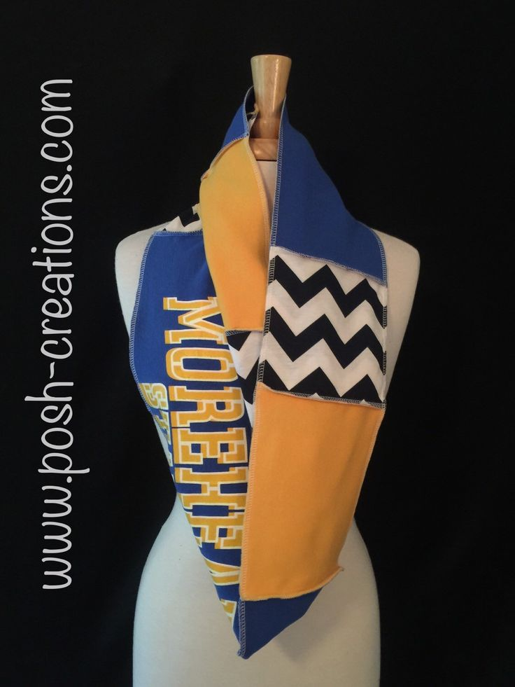 A personal favorite from my Etsy shop https://www.etsy.com/listing/249762612/morehead-state-university-infinity-scarf