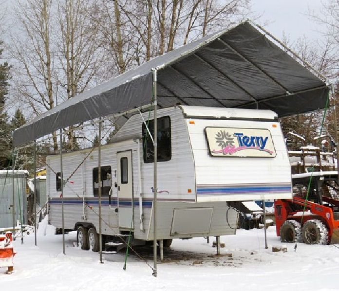 17 best ideas about portable carport on pinterest rv Build your own house kit prices